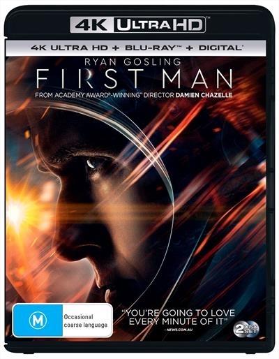 First Man on UHD Blu-ray