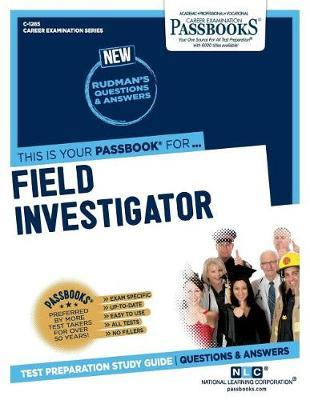 Field Investigator by National Learning Corporation image