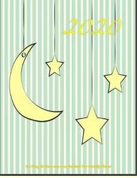 2020- You Hung the Moon 2019-2020 Academic Year Monthly Planner by Laura's Cute Planners