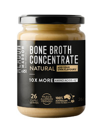 Meadow & Marrow Bone Broth - Natural (260g)