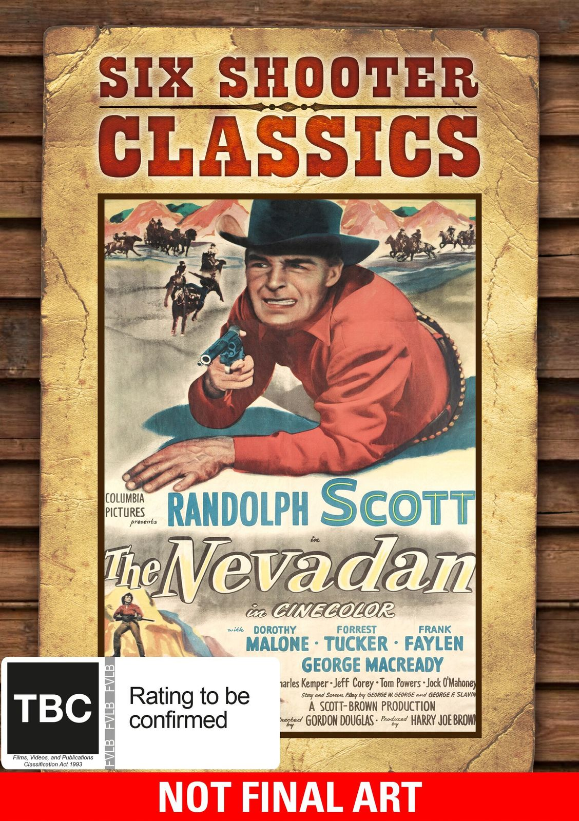 The Nevadan (Six Shooter Classics) on DVD image