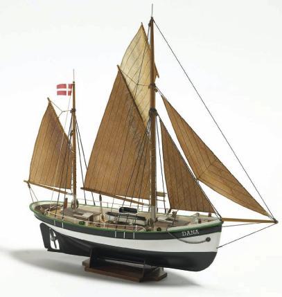 Billing Boats 1:60 Dana Fishing Boat Kit Set