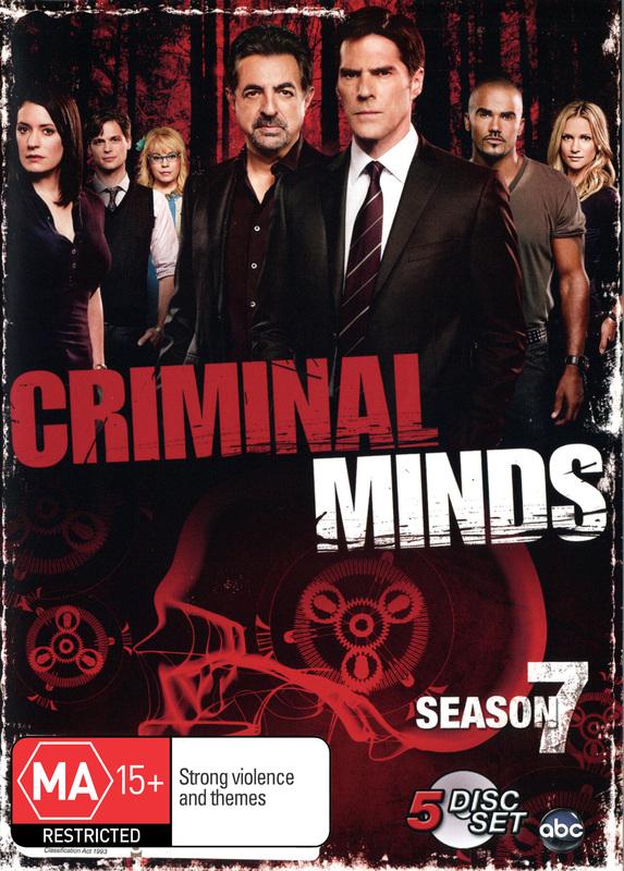 Criminal Minds - Season 7 on DVD