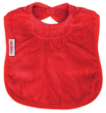 Silly Billyz Towel Large Bib (Red)