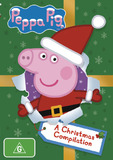 Peppa Pig: A Christmas Compilation on DVD