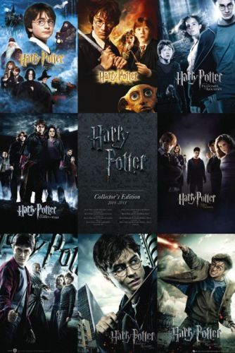 Harry Potter Films Collage Wall Poster (318) image