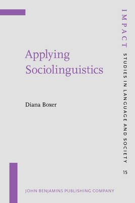 Applying Sociolinguistics by Diana Boxer