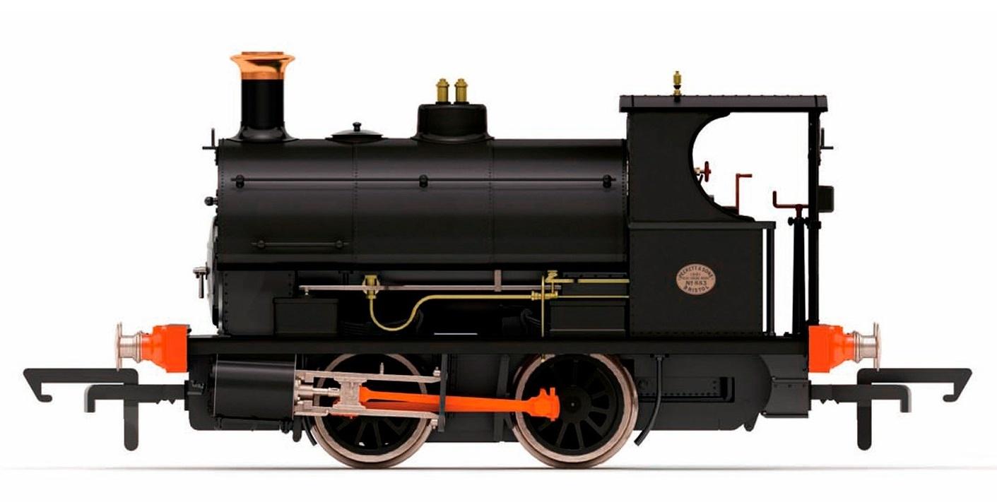 Hornby: Peckett 0-4-0ST '883' Lilleshall Co. image