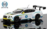 Scalextric 60th Anniversary: Bentley Continental GT (2010's) - Slot Car
