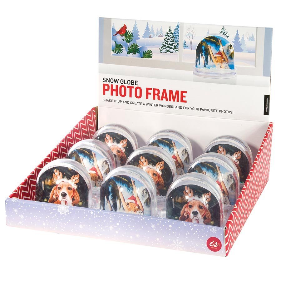 Snow Globe Photo Frame image