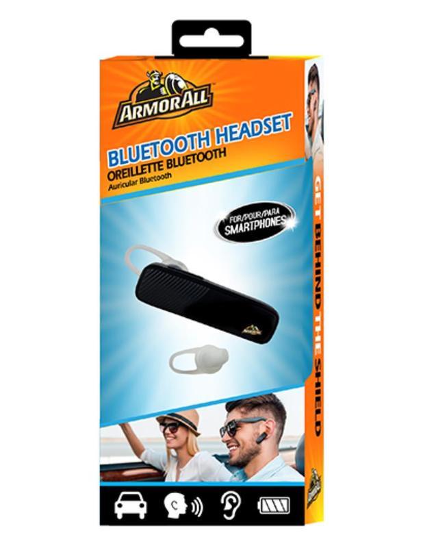 Armor All: Bluetooth Mono Headset