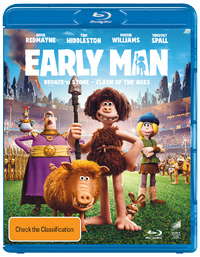 Early Man on Blu-ray