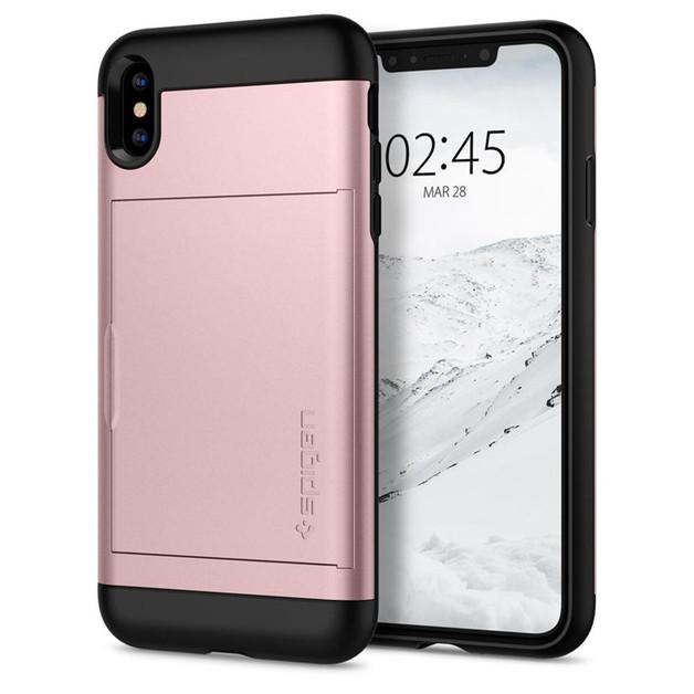46719d9719c2 Spigen  Slim Armor CS Case for Phone XS Max - Rose Gold
