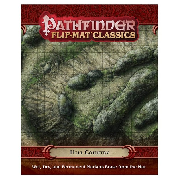 Pathfinder RPG Flip-Mat Classics: Hill Country