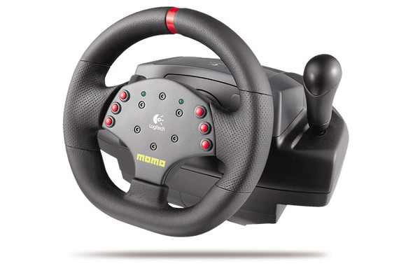 Logitech Momo Force Feedback Steering Wheel image