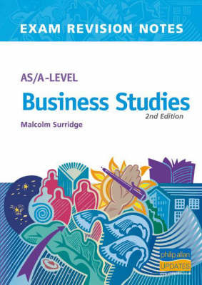 AS/A-level Business Studies by Malcolm Surridge