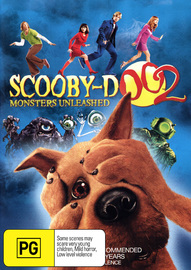 Scooby Doo 2 - Monsters Unleashed on DVD