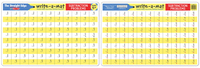 Melissa & Doug: Subtraction Problems Write-a-Mat
