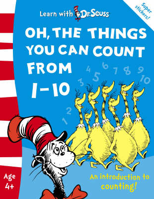 Oh, the Things You Can Count from 1-10: The Back to School Range by Dr Seuss image