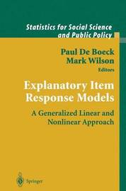 Explanatory Item Response Models image