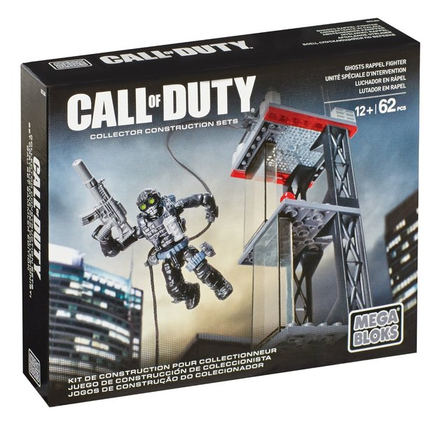Mega Bloks Call Of Duty Rappel Fighter Set Toy At Mighty Ape Nz
