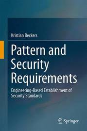Pattern and Security Requirements by Kristian Beckers