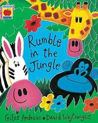 The Rumble in the Jungle by Giles Andreae image