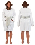 Star Wars: Princess Leia - Hooded Fleece Bathrobe
