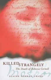 Killed Strangely by Elaine Forman Crane