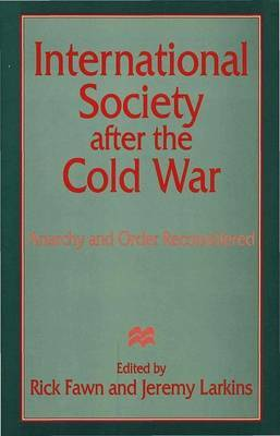 International Society after the Cold War image