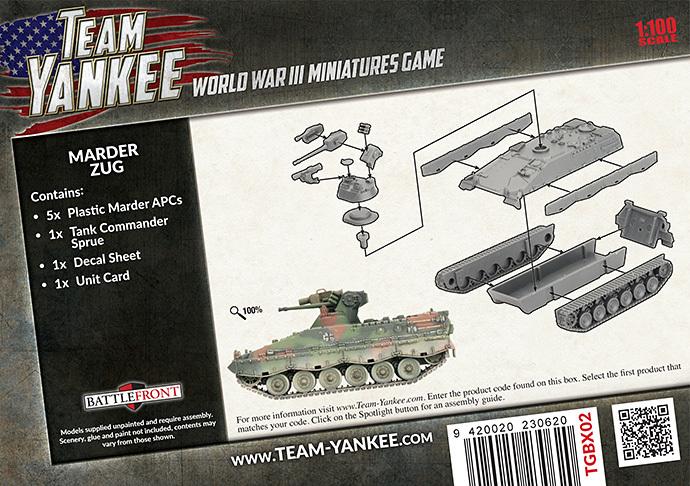 Flames of War: Team Yankee - Marder Zug image
