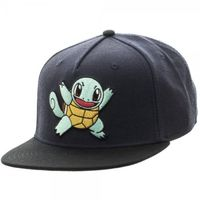 Pokemon: Squirtle Snapback Cap (Black)