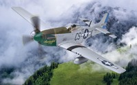 Corgi: 1/72 P51-D Mustang 'Daddy's Girl' - Diecast Model