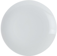 Casa Domani Casual White Coupe Dinner Plate 26.5cm