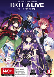 Date A Live - The Complete Series (Seasons 1 & 2) on DVD