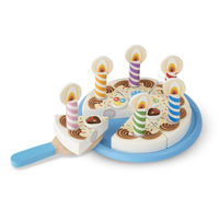 Melissa & Doug: Birthday Party Wooden Birthday Cake