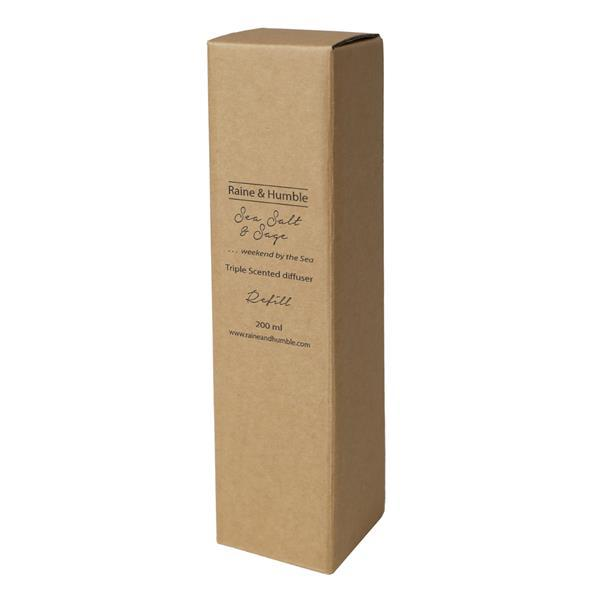 Raine & Humble Sea Salt and Sage Diffuser Scented Refill image