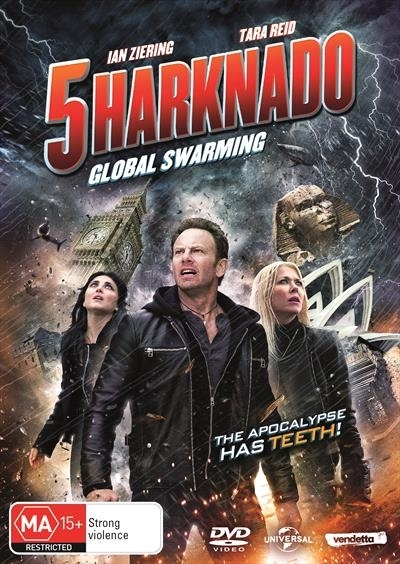 Sharknado 5: Global Swarming on DVD