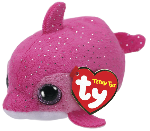 Ty Teeny: Floater Dolphin - Small Plush