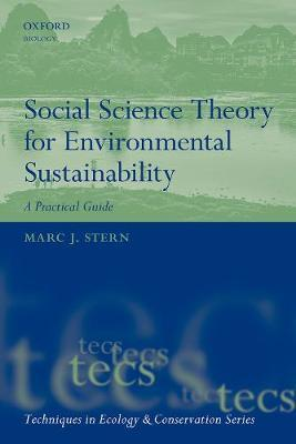 Social Science Theory for Environmental Sustainability by Marc J. Stern image
