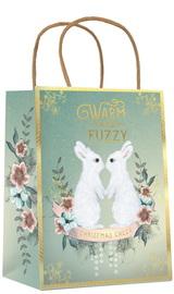 Papaya:Christmas Gift Bag - Bunnies image
