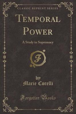 Temporal Power by Marie Corelli image
