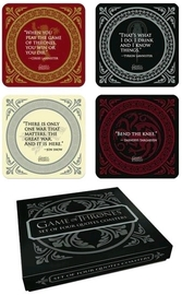 Game of Thrones - Quotes Coaster Set