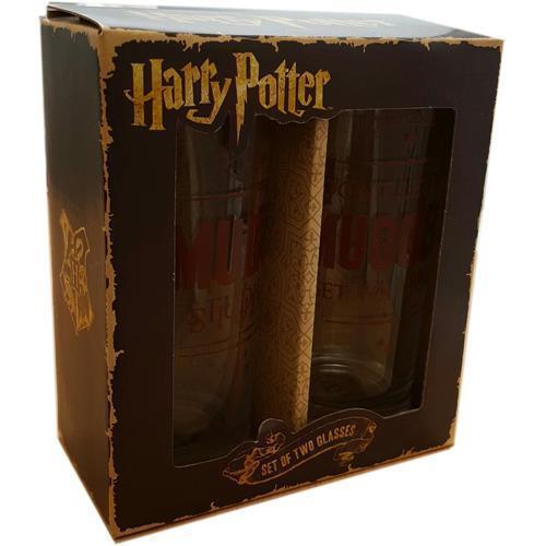 Harry Potter: Muggles Glass Tumbler - Set of 2 image