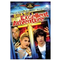 Bill and Ted's Excellent Adventure on DVD image