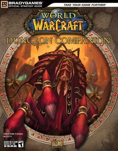 World of Warcraft Dungeon Companion Guide Book for PC Games
