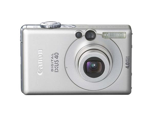 Canon Digital Camera Powershot 4.0 MP IXUS 40