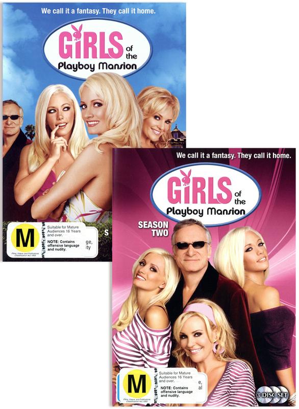 Girls Of The Playboy Mansion - Season 1 & 2 Bundle on DVD