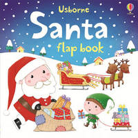Santa Flap Book by Sam Taplin
