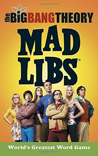The Big Bang Theory Mad Libs by Laura Marchesani image